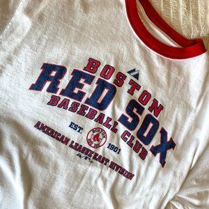 Majestic Vintage ThrowBack Red Rox Tee